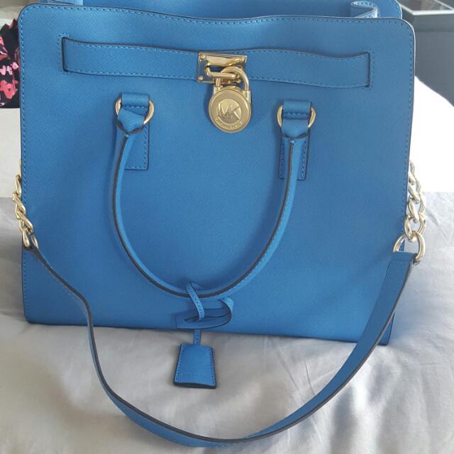 Michael Kors Bag (Large, Hamilton Design)