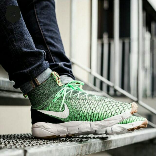 super popular 96f69 e56e2 Nike Air Footscape Magista Flyknit,Poison Green (Not Visvim, Supreme,  Yeezy, Nmd, Nbhd, Flyknit), Men s Fashion on Carousell