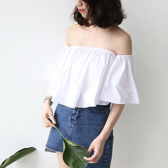 Off Shoulder Flare Top [postage included]