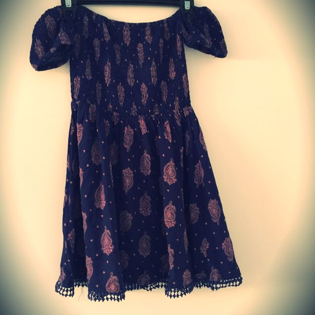 Off The Shoulder Dress Small