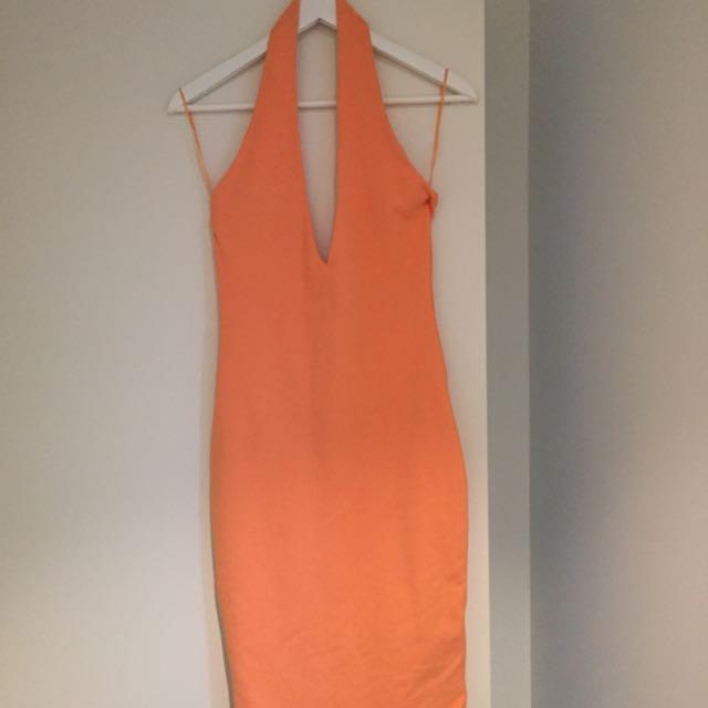 Orange Live Dress