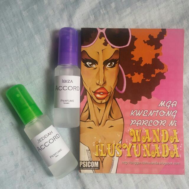 Perfume w/ FREE Book