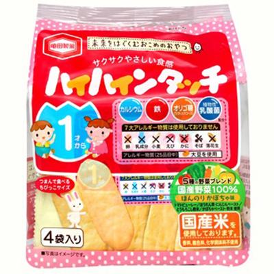 ♥PinKの寶舖♥日本代購 熱銷經典龜田 龜田野菜幼兒米果28g 特價$65