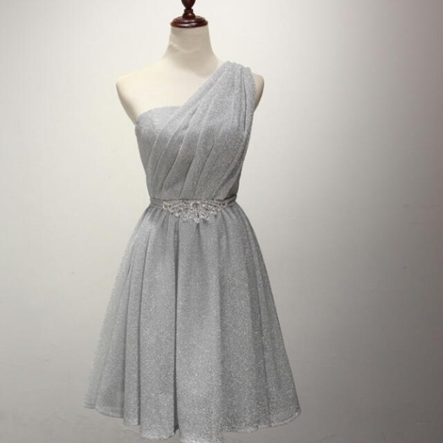 PO] Silver Toga Gown, Bulletin Board, Preorders on Carousell