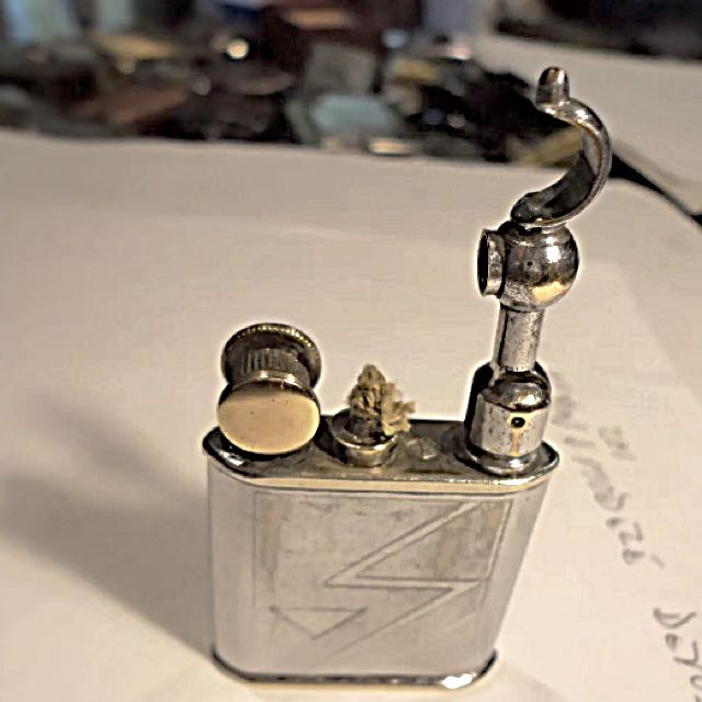 Rare Vintage 1940s French Petrol