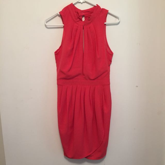 Rise Of Dawn Coral Dress