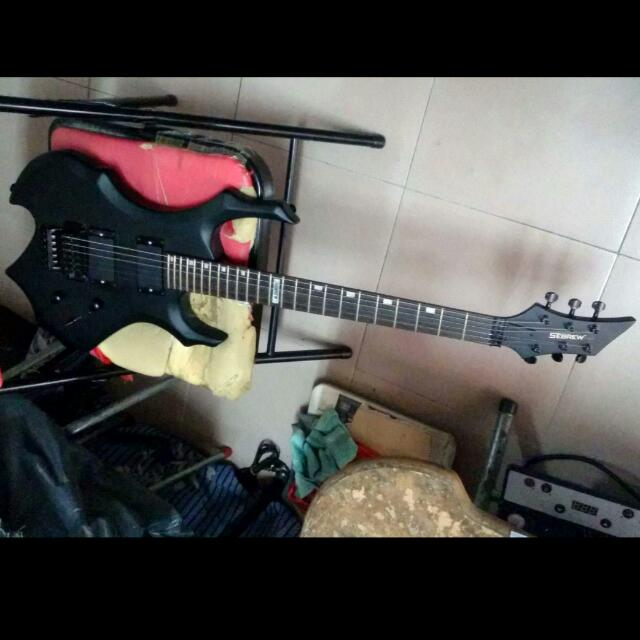 Sebrew Electric Guitar Custom Design