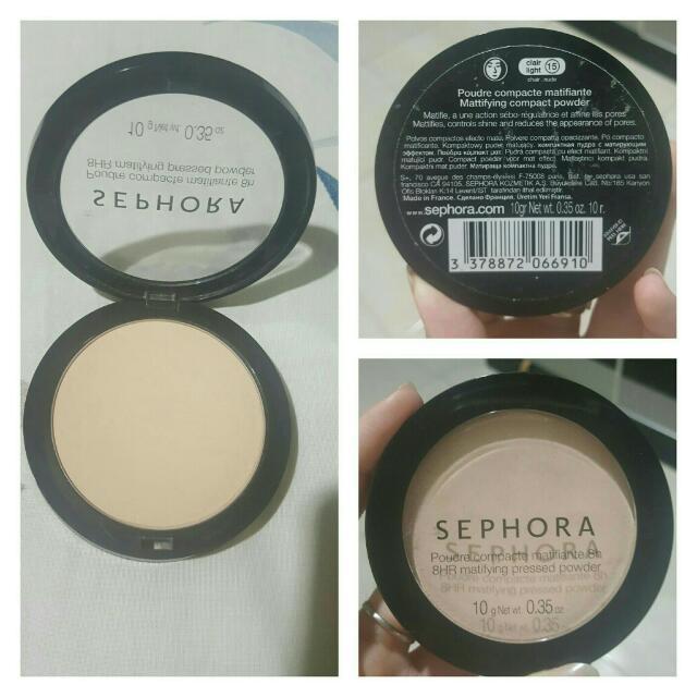 SEPHORA Pressed Powder 8Hr