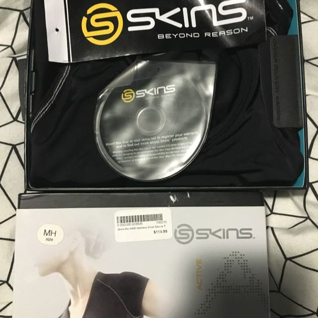 Skins Bio A400 Short Sleeve T