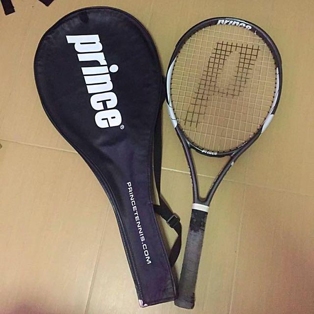 Tennis Racquet Prince Black