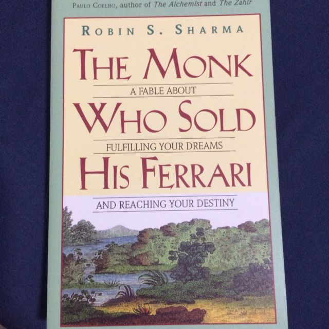 The Monk Who Sold His Ferrari Books Stationery On Carousell