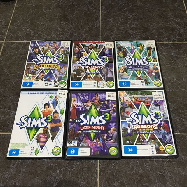 The Sims 3 Collections