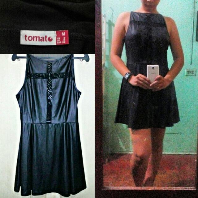 Tomato Black Dress