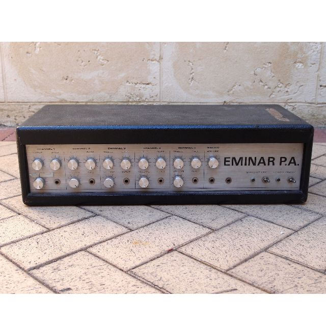Vintage collectible 70s Eminar tube PA/Bass/Guitar amp