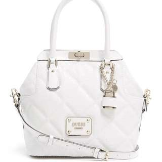 GUESS Turnlock Satchel