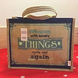 Tesco Green Bag