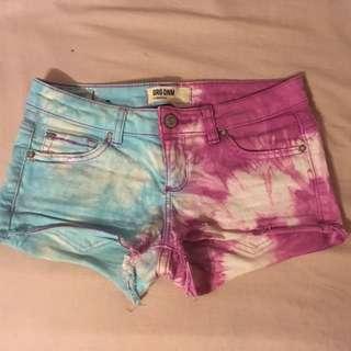Pink & Blue Shorts
