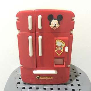 Mickey Mouse Fridge With Accessories..
