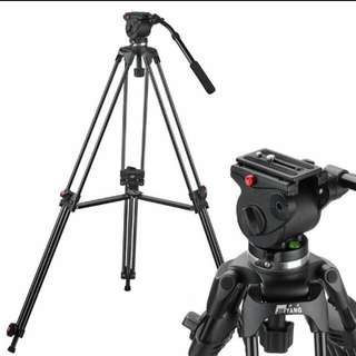 Jieyang JY0508 Pro Video Tripod Fluid Pan Head for Camcorder Camera