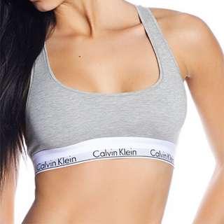 Calvin Klein Bralettes (Grey & black) And Bottoms