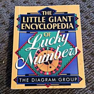 The Little Giant Encyclopaedia Of Lucky Numbers - The Diagram Group