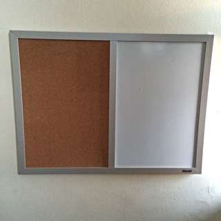 Dry Erase And Pin Board