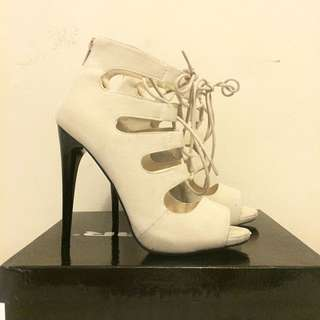 LOWERED: $40 Lace Up Heels
