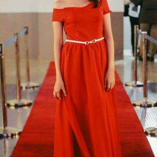 Red Gown