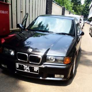 my own BMW serie 3 th 98