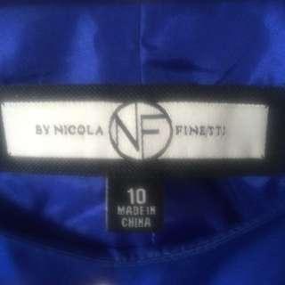 Nicola Finetti Peplum Dress