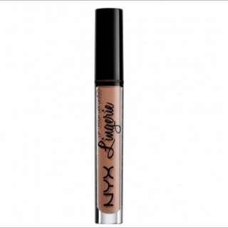 NYX Lingerie Liquid Lipstick In 'Baby Doll'.