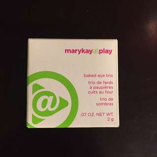 Marykay At Play Baked Eye Trio