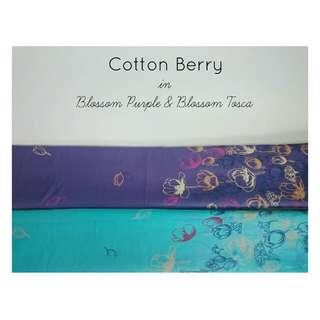 Cotton Berry Blossom Flower Pashmina