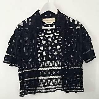 Stone Cold Fox Lace Tee
