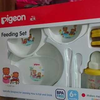 Reprice!! Pigeon Feeding Set Besar