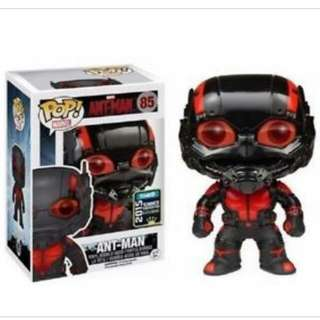 Funko Pop Vinyl Retired/stickered Blackout Antman