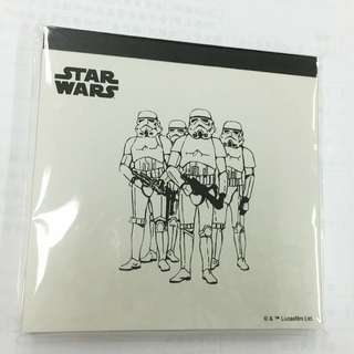 STAR WARS星際大戰正版紀念便條紙