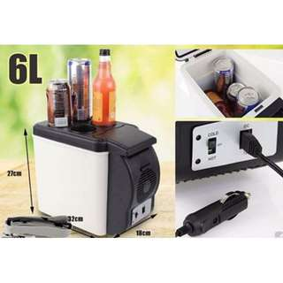 Portable 6L Cooling & Warming Car Refrigerator