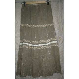 Olive Skirt Ladies - Medium waist -used