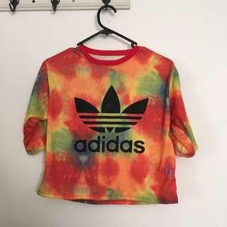 Adidas Tie Dye Crop
