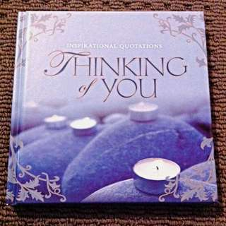 Inspirational Quotes - Thinking Of You