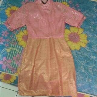 dress songket kebaya