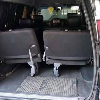 Foldable Van Seat