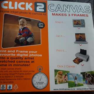 Click to Canvas Pack