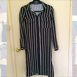 ASOS Stripe Shirt Dress