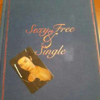 Super Junior Sexy Free & Single Album + DONGHAE PHOTOCARD