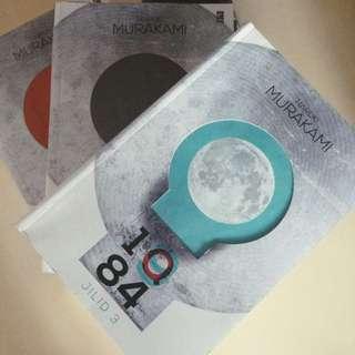1Q84 Series by Haruki Murakami - Indonesian Translated