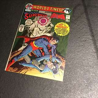 Bronze Age Comics World's Finest