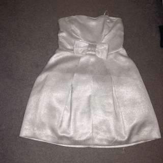 Sparkly Silver Dress