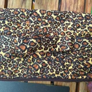 豹紋 化妝包 彩妝袋